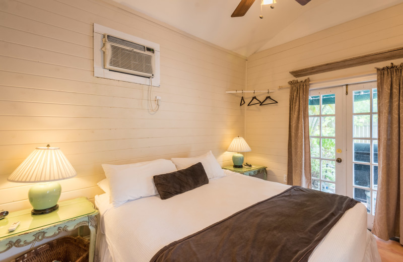 Rental bedroom at Key West Vacation Rentals.