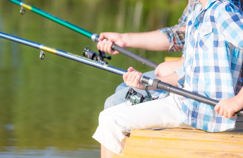 Fishing at Sea Star Realty.