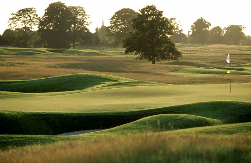 Golf course at Carton House Hotel & Golf Club.