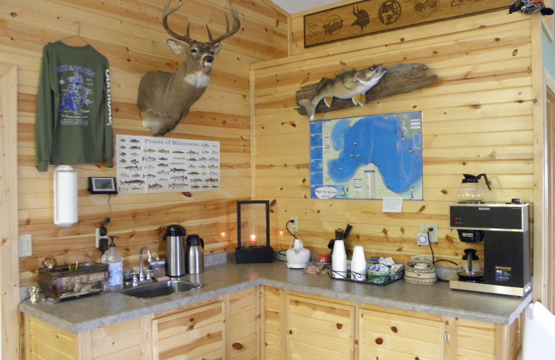 Breakfast room at Lakeroad Lodge.
