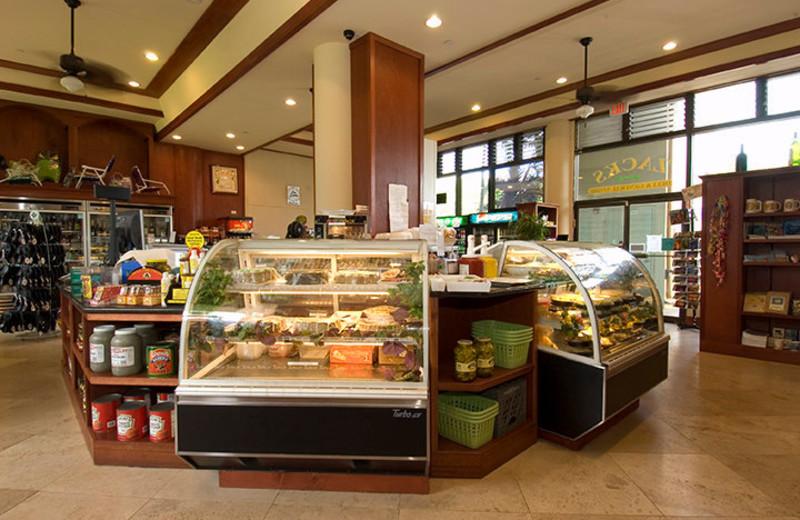 Cafe at Mana Kai Maui.