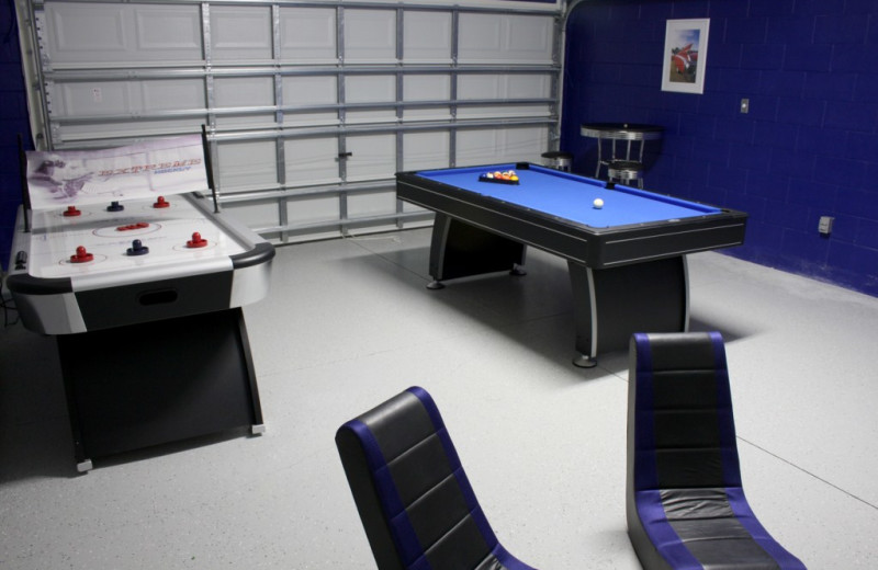 Rental recreation room at Florida Dream Management Company.