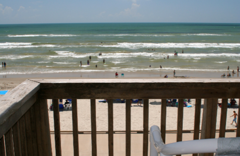 View from your balcony at Island House Beach Front Condominiums
