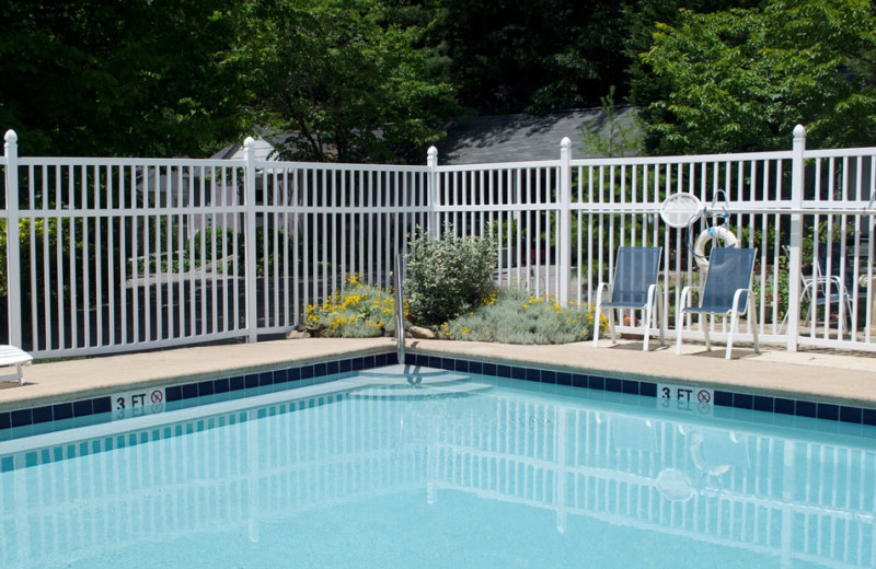 Outdoor pool at The Garden Walk Bed & Breakfast Inn.