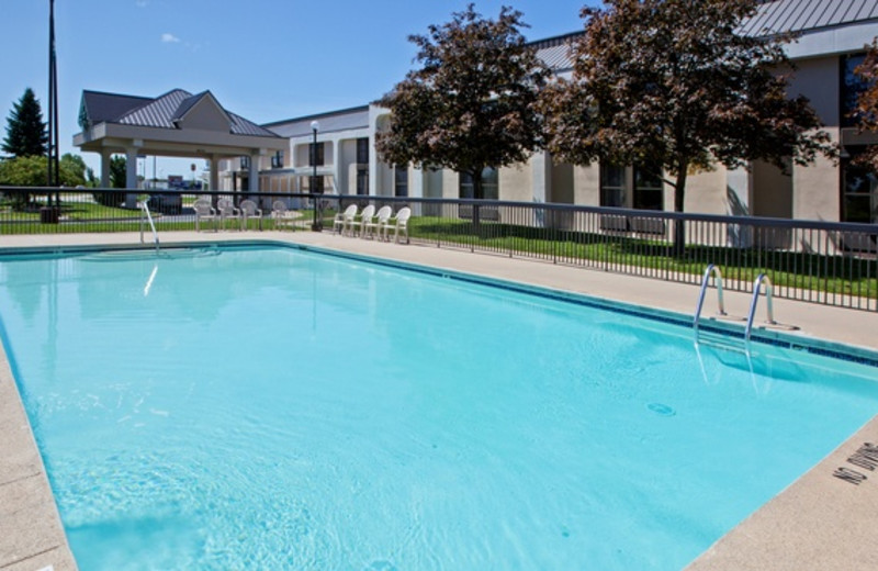 Outdoor pool at Country Inn & Suites.