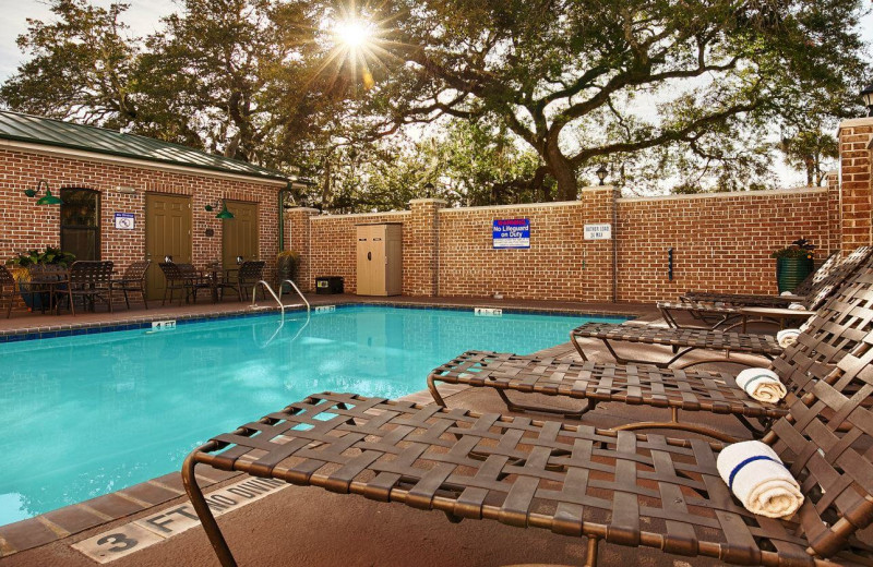 Outdoor Swimming Pool at Best Western Plus Savannah Historic District