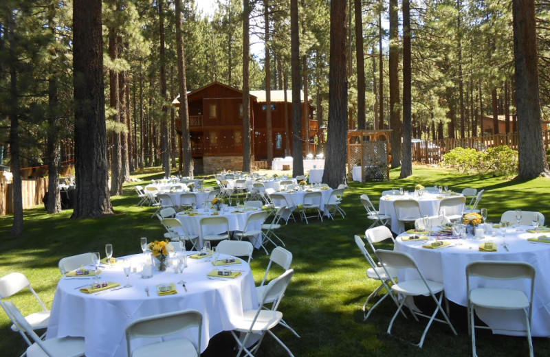 Wedding at Heavenly Valley Lodge.