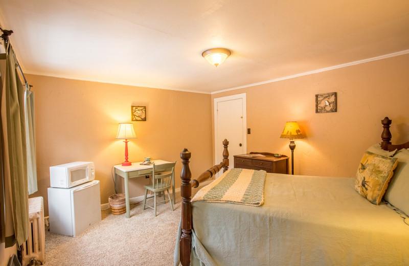 Guest room at ADK Trail Inn.