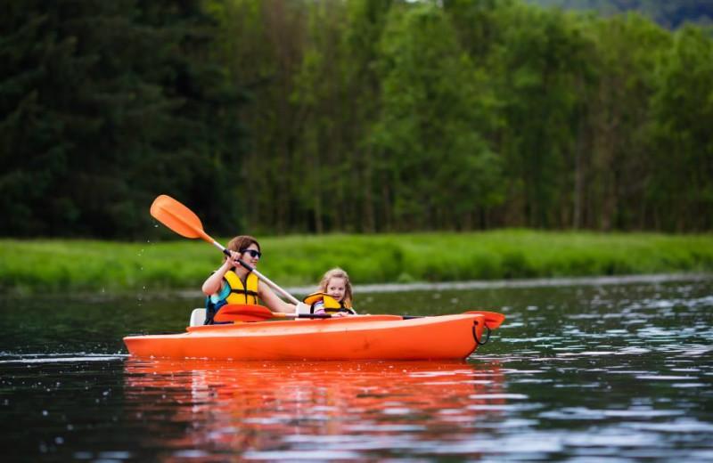 Kayaking at Vickery Resort On Table Rock Lake.