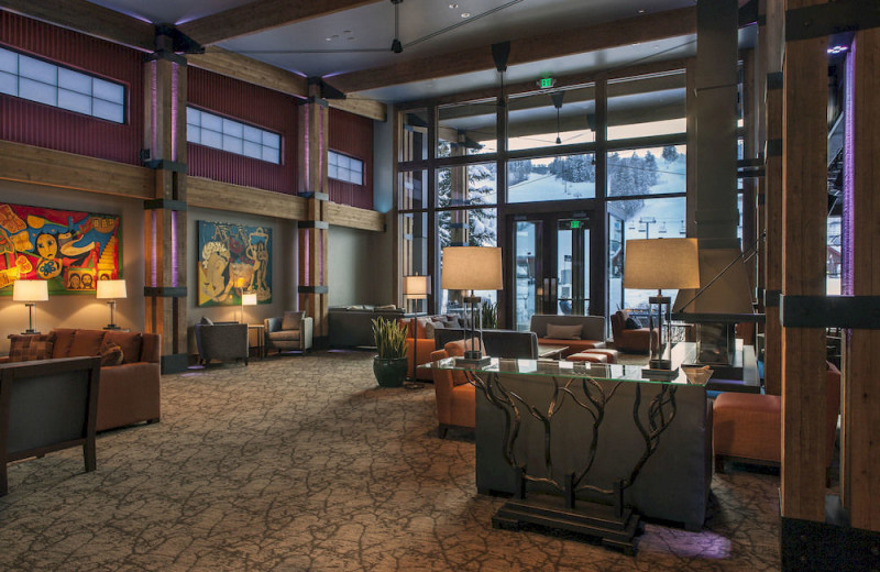 Lobby view at Inn at Aspen.