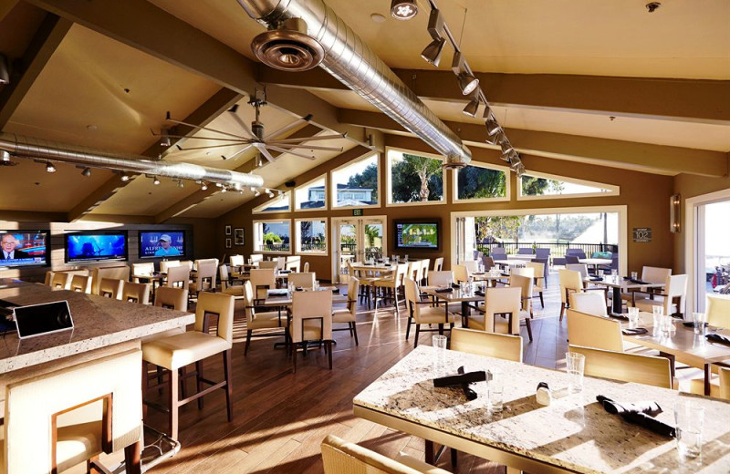 Dining at Morgan Run Resort & Club.