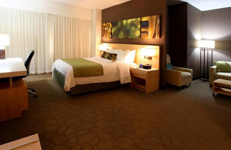 Guest room at Delta Regina.