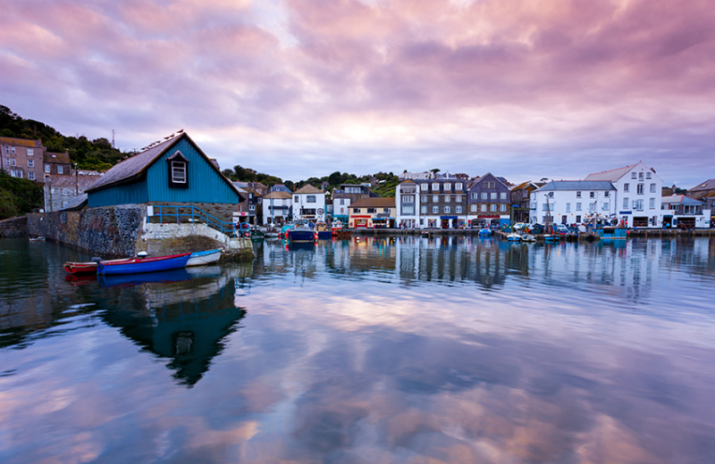 Natural Retreats Trewhiddle, close to scenic fishing villages like Mevagissey.