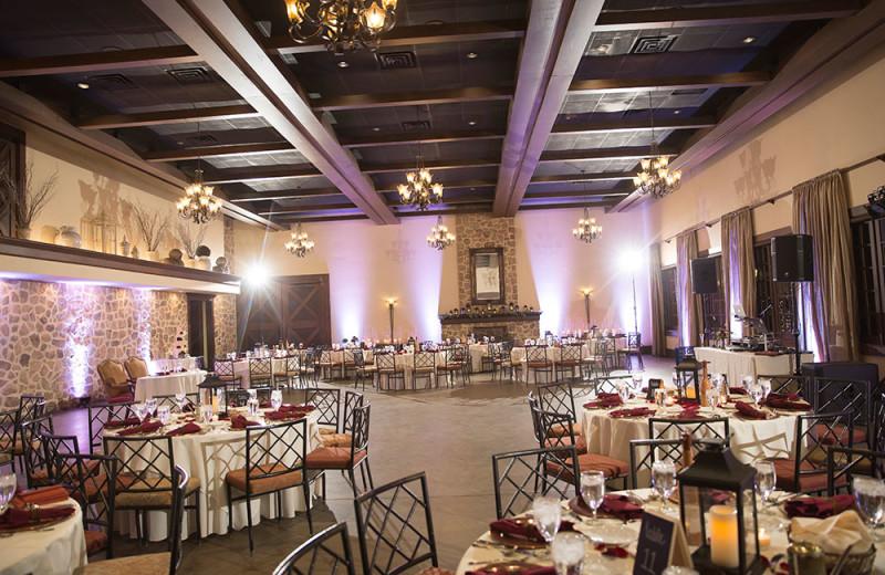 Wedding reception at The Inn at Leola Village.