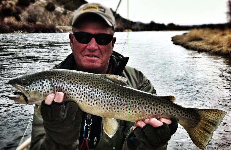 Fishing at Teton Valley Lodge.