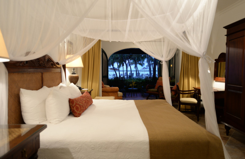 Guest room at Harbour Village Beach Club.