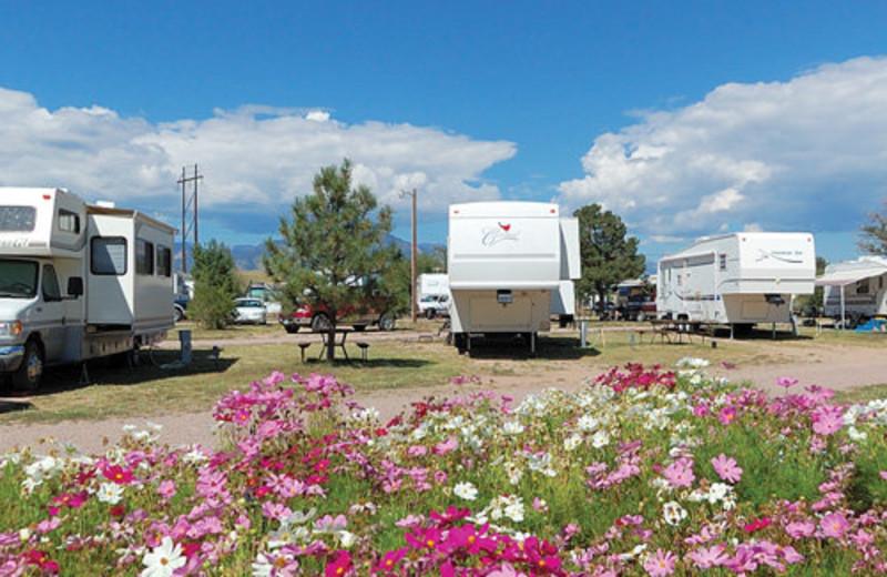 Campground at Colorado Springs KOA.