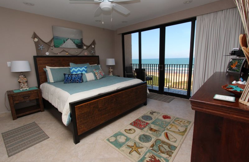 Rental bedroom at Seabreeze 1.