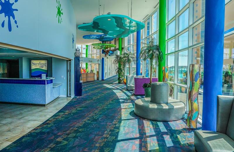 Interior at Splash Resort.