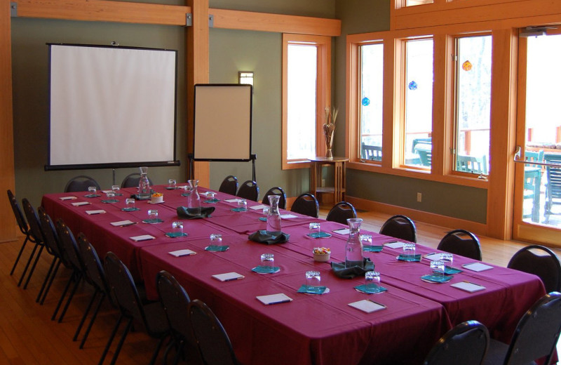 Conference room at Minnewaska Lodge.