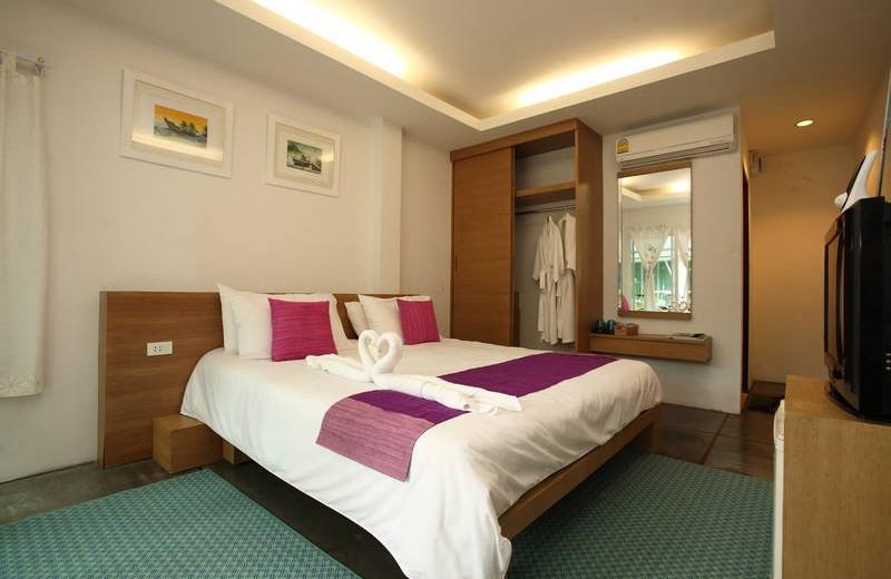 Guest room at Le Blanc Samed Resort.