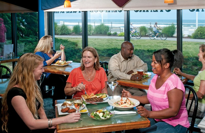 Dining at Best Western PLUS Oceanfront Virginia Beach.