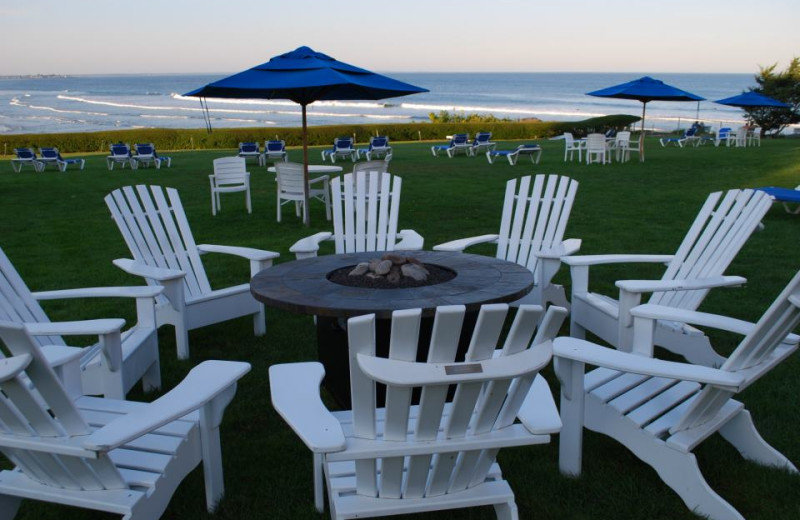 Outdoor relaxation at Beachmere Inn.