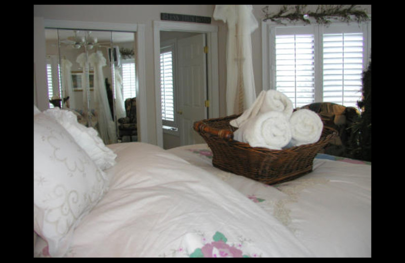 Guest room at Canterbury Chateau Bed & Breakfast.