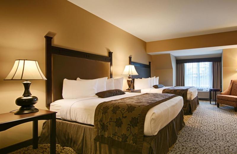 Guest room at Best Western Plus Intercourse Village Inn.