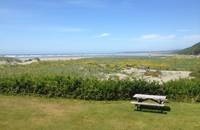 View from at Hi-Tide Ocean Beach Resort.