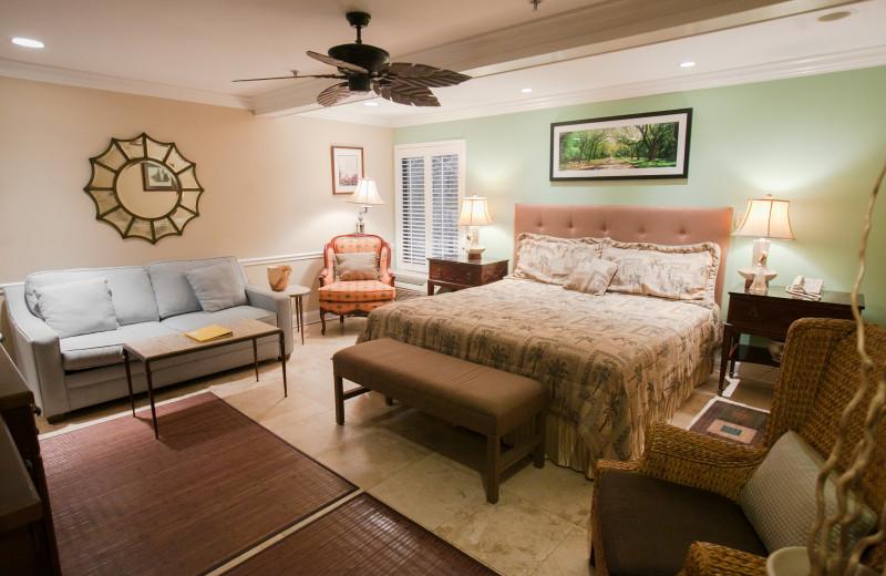 Guest room at Saint Simons Inn By The Lighthouse.
