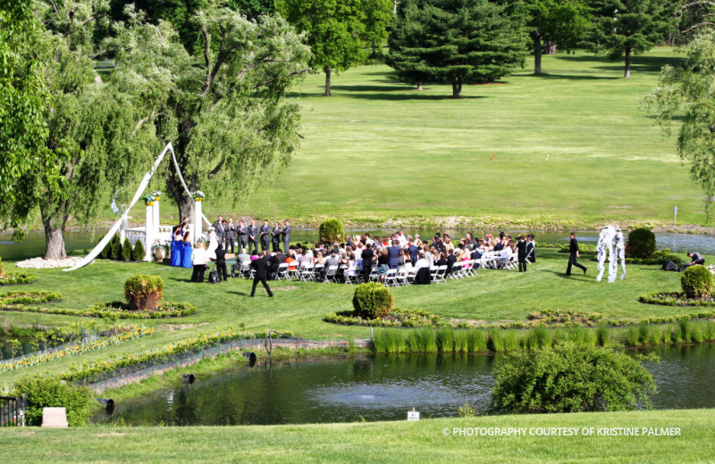 Wedding at Honor's Haven Resort & Spa.