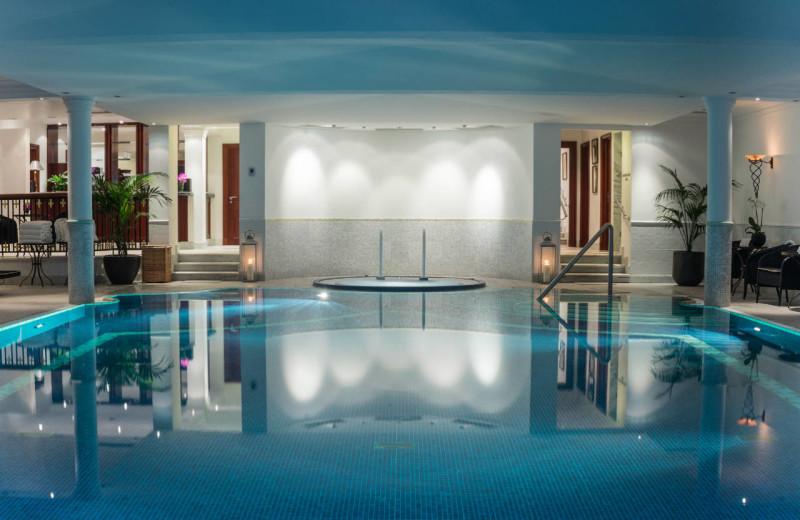 Indoor pool at The Regent Schlosshotel Berlin.