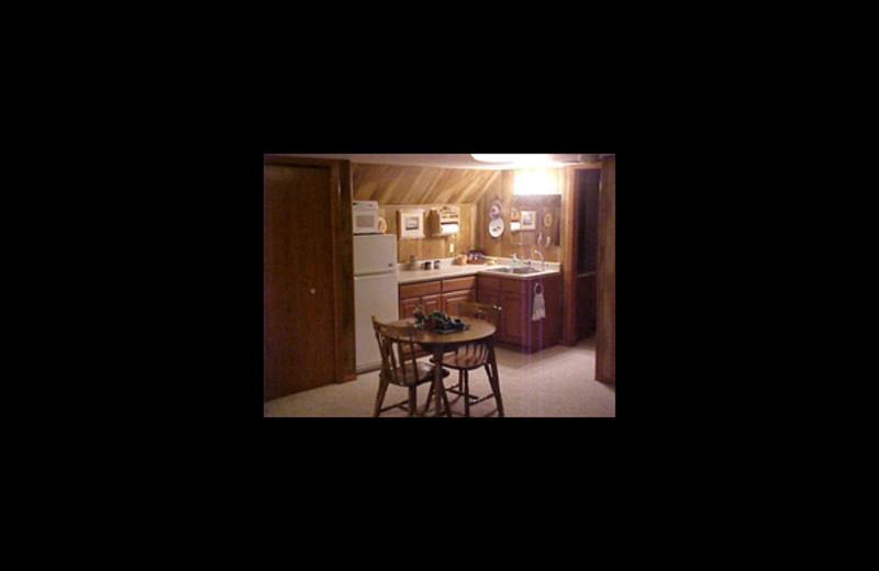 Kitchen at Wooden Diamond Rest.