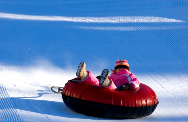 Snow tubing at Mountain View Grand Resort & Spa.