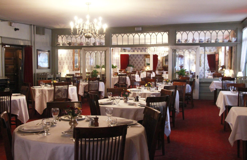 Dining at Red Lion Inn.