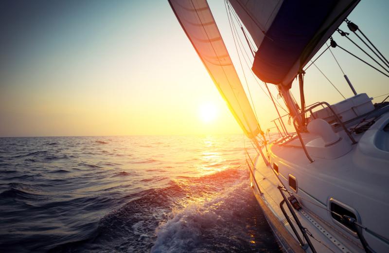 Boating at Sea Star Realty.