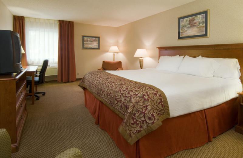 Guest room at Carlton Lodge.