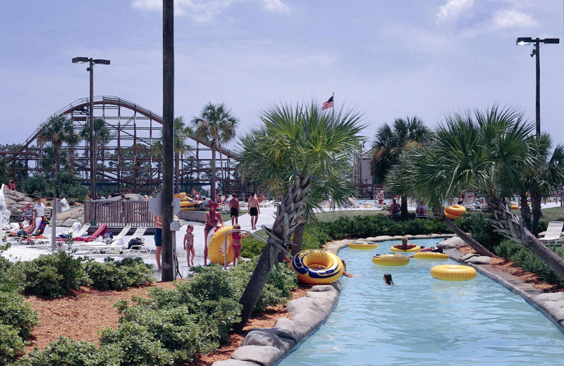 Waterpark near Caribe Resort.
