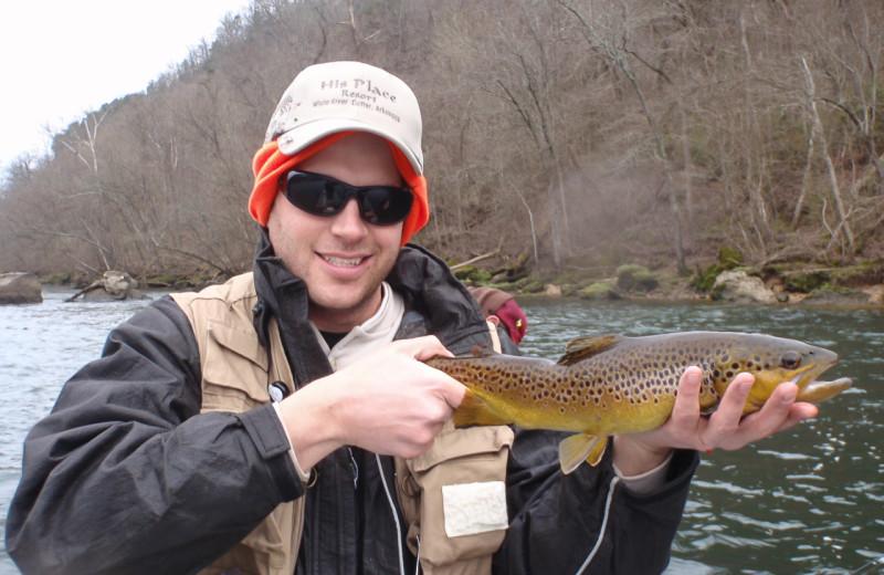 Fishing at His Place Resort