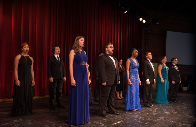 The Lake Junaluska Singers perform a series of shows each year.