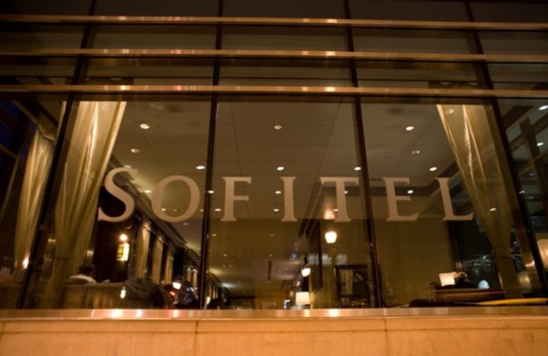 Front entrance at Sofitel Philadelphia.