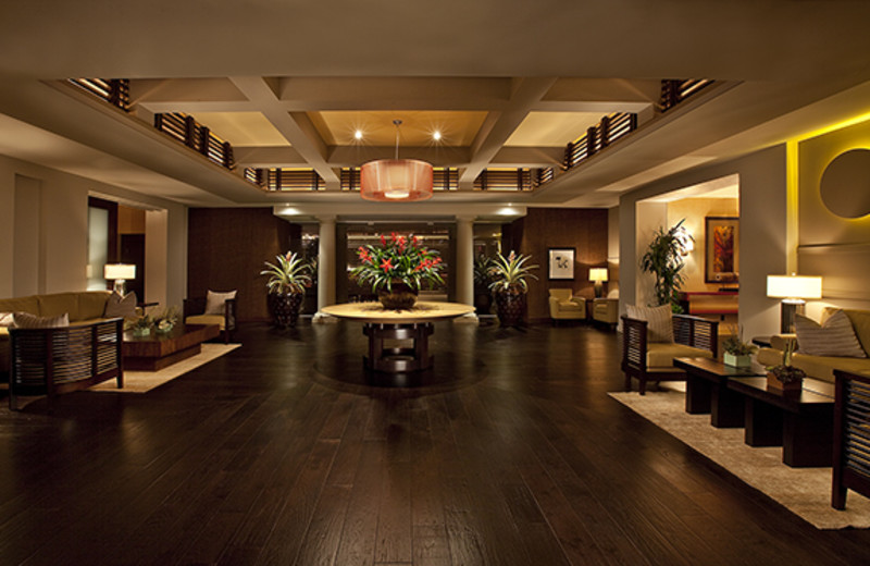 Lobby at The Seagate Hotel & Spa.