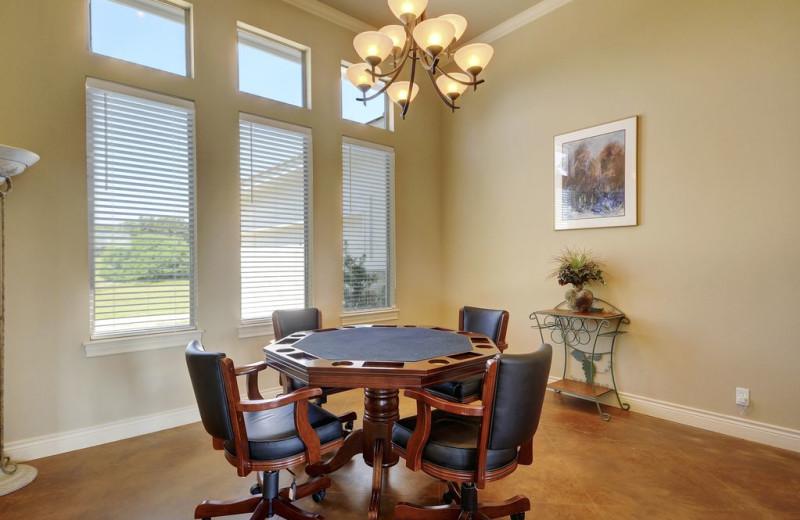 Dining room at Hill Country Ranch at Lake Travis.
