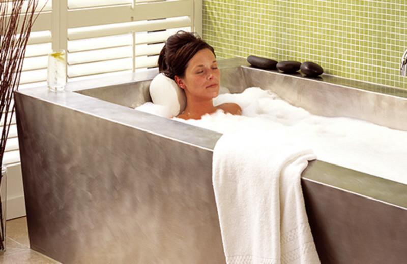 The spa at Hotel Healdsburg.