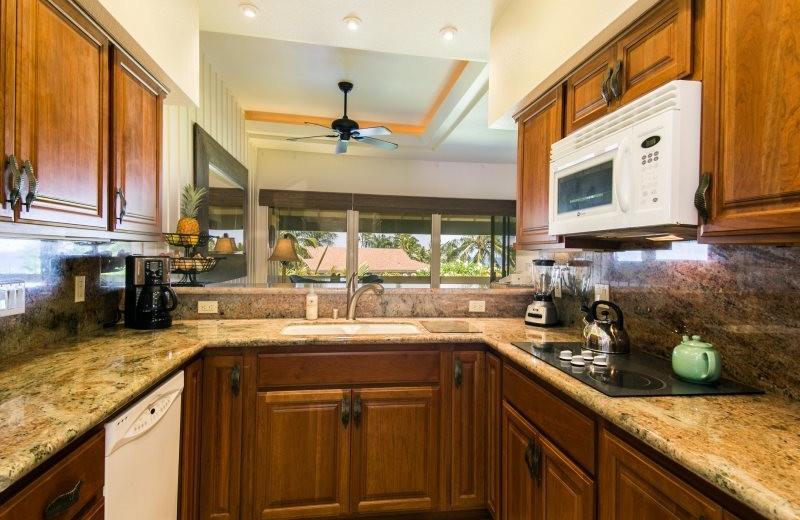 Vacation rental kitchen at Great Vacation Retreats