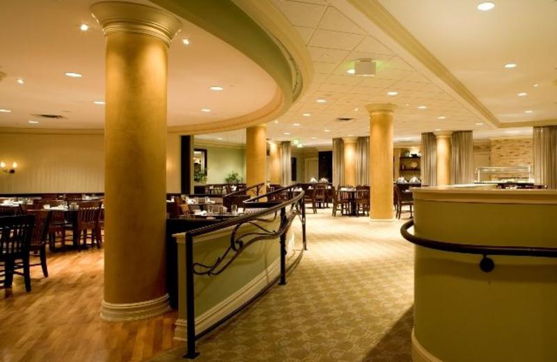 Interior view of Saint Paul Hotel.