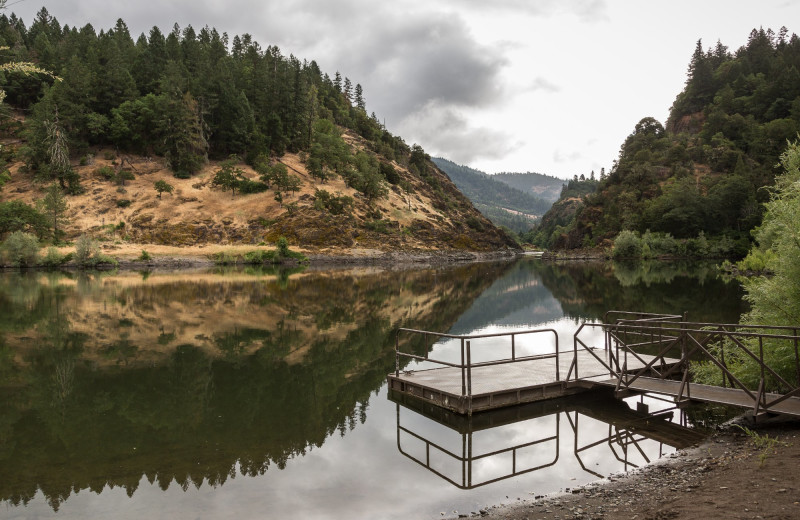 Scenic view at Morrison's Rogue River Lodge.