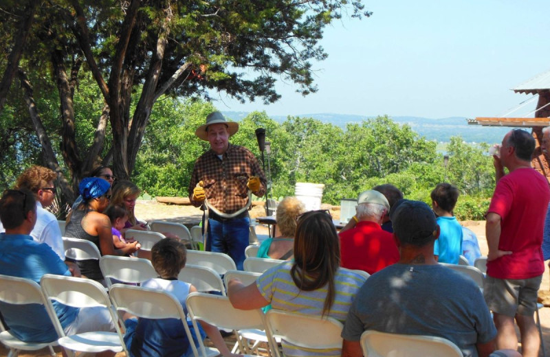 Nature programs at Canyon of the Eagles.