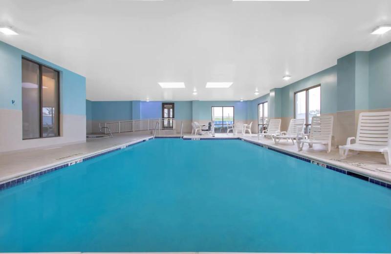 Indoor pool at Wingate by Wyndham Mechanicsburg/Harrisburg West.